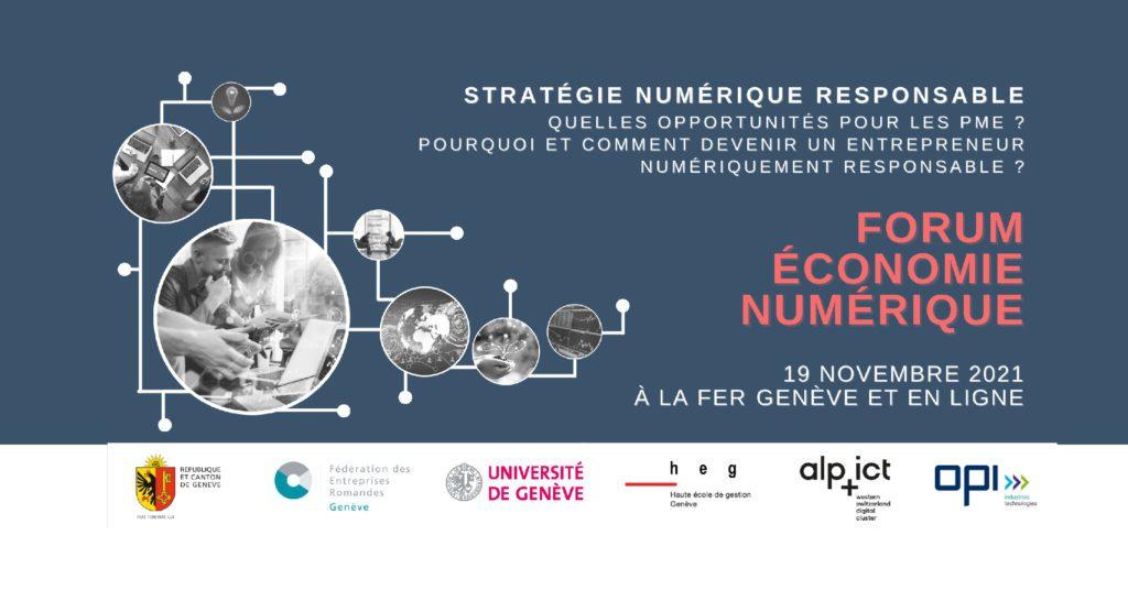 Forum économie numérique 2021